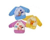 20pcs/lot Baby Cotton Cartoon Bibs/Feeding/Baby Smock/ Kids overclothes/Waterproof Vesture,children burp cloths,infant bib