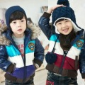 50% off sales child wadded jacket  thickening cotton-padded jacket children&#39;s clothing winter casual cotton-padded jacket