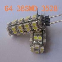 10X G4 LED Lamp 12V 38 SMD 3528 White Warm White led Light