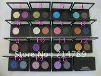 free shipping new hot sell makeup EYE SHADOW X 2 FARD A PAUPIERES X 2 eyeshadow Pigment 15 different color(12PCS/LOT)