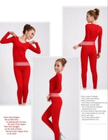 Free shipping+3sets/lot+80%cotton+20% fiber+9 colors Sealess Body-shape high Elasticity Women's underwear Long johns Shapers