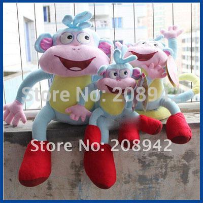 Newest Dora the Explorer BOOTS Soft Plush toy The Monkey Plush Dolls baby toys Free shipping Best selling!(China (Mainland))