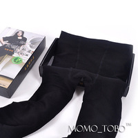 Double layer bamboo charcoal fiber winter thickening brushed ankle length legging thermal
