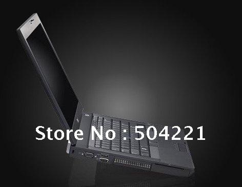 DHL/EMS/ Free  shipping  95% new DL E6400 Intel Core2 2.53Ghz 2GB 160GB BT WiFi WEBCAM DVDRW 14. ...