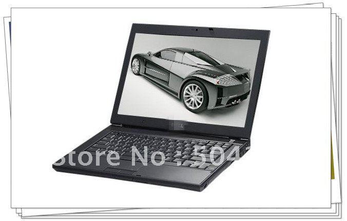 EMS/DHL Free sample ! 95% new E6400 Intel Core2 2.53Ghz 2GB 160GB BT WiFi WEBCAM DVDRW 14.1&qu ...