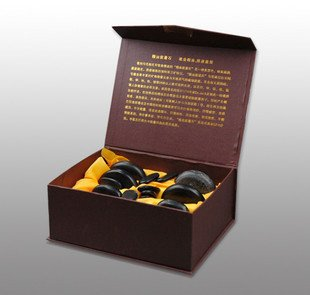 Best selling! 16pcs packing hot sell body Massage stones massage stone set hot stone 1Pcs/Lot Free shipping