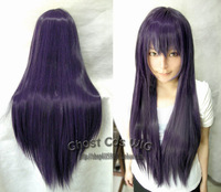 free shipping coplay wig 0 ! 80cm long straight hair high temperature wire cosplay wig