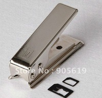 5PCS/LOT Nano SIM & Micro SIM Card Cutter For iPhone 5 Factory Supplier wholesale free SHIPPING