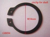 100pcs  circlip for shaft  PHI 34  GB894