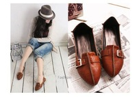 woman shoes fashion free shipping new style design soft PU material woman flat  comfortable shoes,uk style