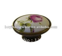 oval drawer knobs cabinet knobs cupboard knobs closet handles wholesale and retail shipping discount 100pcs/lot T07-AB