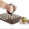 48 Hole Macaron Mat + Easy Squeeze 100% Food Grade Silicone  Macaron Decorating Pen(China (Mainland))