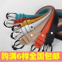 2012 casual strap laciness cutout belt female decoration belt accounting clothing