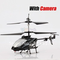 High Quality+Cheap Sale! RTF 3 Channel Remote Control Helicopter with Camera 777-175 3CH RC Heli, Free Shipping