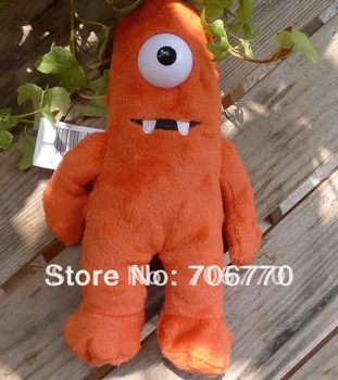 Lot /6pcs NEW YO GABBA GABBA Muno CUDDY PLUSH DOLL PLAY DOLL TOY LOVELY RARE