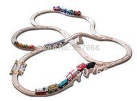 DIY thomas train track tracks orbit trains compatible wooden 10 set track 1 set=39pcs