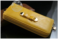 New style! 2 colors checked pattern wallet men's purse long wallet wholesale&retail Cowhide leather purse card holder sm1504