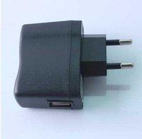 USB AC Power Supply Wall Adapter MP3 Charger EU Plug 30pcs/lot