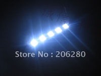 DHL FREE SHIP-- 12VDC LED point light Light  word decoration lighting led piranha module 5 lamp non-waterproof module100PCS/LOT