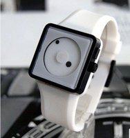 Wholesales 30pcs/lot,Wrist leather watch new fashion design good quality Justin Bieber  watch, Free shipping