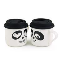 A M@ll Straw! Lovers mug q cartoon ceramic cups office cup -cbt1
