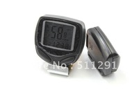 Free shipping Wirless LCD Cycle Computer  Odometer Speedometer Bike Bicycle Meter Speed Counter, health care slimming machine