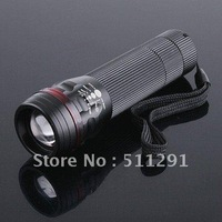UltraFire led Flashlight cree led torch TrustFire CREE T6 Aluminium Torch 200 Lumens 3-Mode Adjustable Waterproof  Free shipping