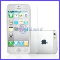 2000pcs/lot For iPhone 5 5G Clear Screen Guard Protector With Retail Package DHL Free Shipping