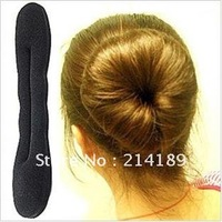 Hot products!!! Sponge Bun Clip Maker Former Foam Twist Hair Salon Tool,Magic Dish hair stick,free shipping