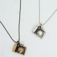 2257 sbb accessories vintage long design mini camera necklace female 14g