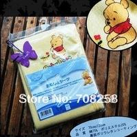 Free Shipping,120x70cm, Cute100%cotton baby cartoon changing mat,baby diaper mat,baby urinal pad,waterproof pad/mat retail, 348