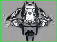 Fairing For Honda CBR600RR 2005-2006 05 06 CBR600RR 2005 2006 CBR600RR 05-06 black Woman Flower ABS Plastic Bodywork Set HB03