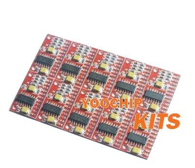 5pcs Mini Amplifier Board 3W+3W USB Power Supply DC 5V(China (Mainland))