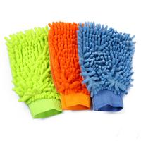 Free shipping car wash gloves Coral fleece  gloves  auto supplies