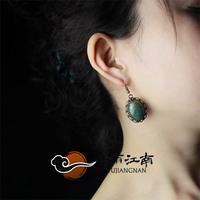 Earrings vintage elegant turcos metal fashion no pierced clip 925