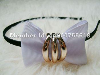 twill weave ribon small flower headbands hairwears head jewelry