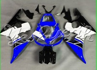 YZF-600 R6 03 04 05 YZF-R6 YZFR6 2003 2004 2005 fairing 50th Anniversary Blue ABS Fairing 64M18