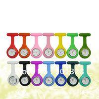 Silicone pocket nurse watch