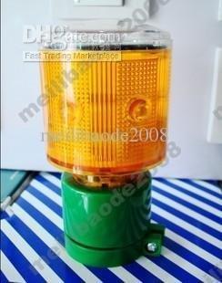 2pcs H86 6LED Solar Road Studs Warning Safety Sign LED Flash Light For Traffic