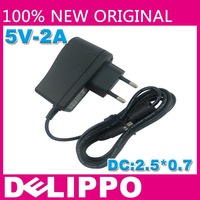 EU DELIPPO 5V2A power adapter, DC2.5 * 0.7 mm Tablet PC Power Charger N90, N10, the AMPE A90, A10 Yuen Road, Gemei, EKEN A90