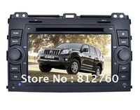 """NEW Android car dvd player for Totoya Prado with7""""touch screen/GPS/bluetooth/Radio/RDS/IPOD/Wifi/ 3G optional/free shipping"""