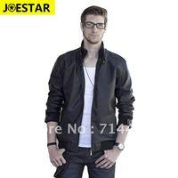 Free shipping! wholesale male motorcycle jacket PU clothing, Men leather jacket plus big size