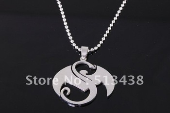 20pcs men's High quality silver Stainless Steel 40*35mm dragon pendant necklace, birthday gifts Thanksgiving ,Christmas gifts
