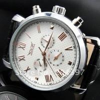 Jaragar fashion designer top brand watches men mechanical automatic dive white dial mens swiss watch