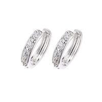 Xuping zircon gold plated accessories earrings female hoop earrings fashion earring married in ear