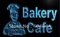 LB951- Bakery Cafe Shop Bread Cake NEW Neon Light Sign  hang sign home decor shop crafts led sign