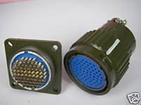 10x Military 65-Pin High Power Volt.Circular Connector