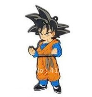 NEW 4GB 8GB 16GB 32GB  USB Flash Drive 2.0 Memory Stick - Dragonball Z Goku