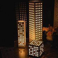2014 promotion new arrival white modern 60cm eye-lantern brief floor lamp