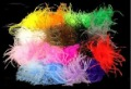 mix colors! puffs ostrich puffs ostrich feathers ostrich puffs 20 pcs mix colors Whosale price! @123